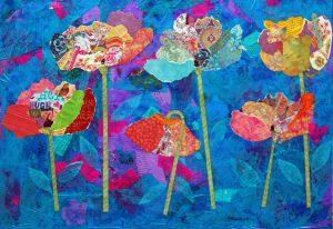 collage of poppies