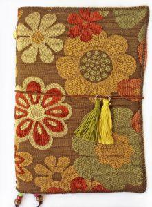 fabric travelers journal