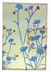 hand painted envelope for travelers journal