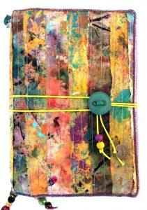 handmade travelers journal