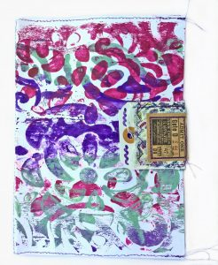 hand painted envelope