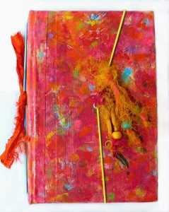 altered book travelers journal
