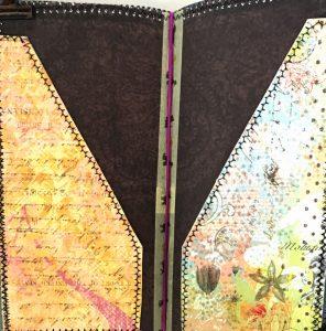 handmade folders for journal