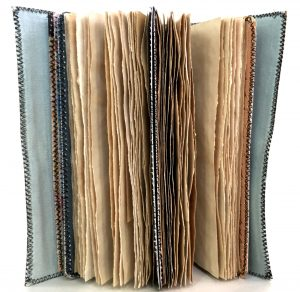 coffee dyed journal pages